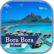 Bora Bora Island Travel Guide & Offline Map 1