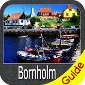 Bornholm (Denmark) charts GPS map Navigator