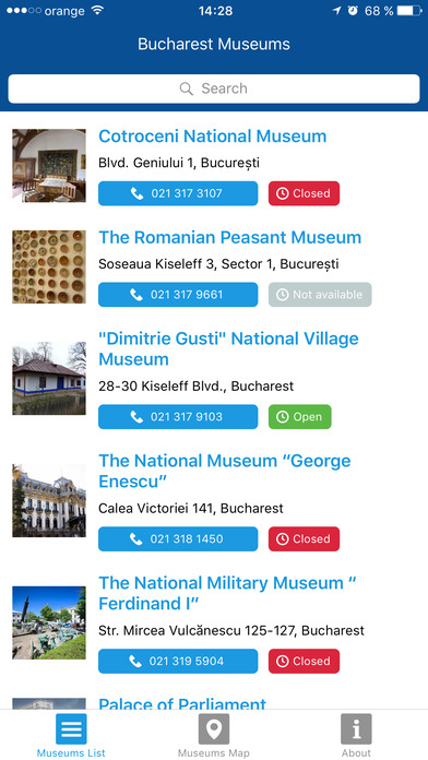 Bucharest Museums