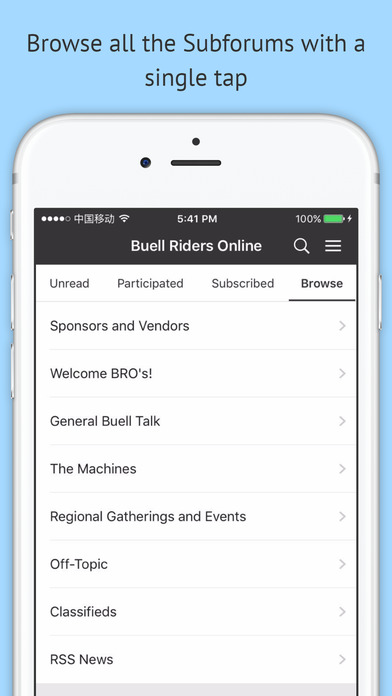Buell Riders Online