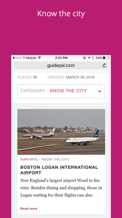 Boston City Travel Guide - GuidePal