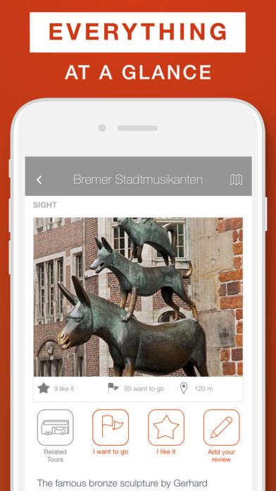 Bremen - Travel Guide  Offline Map