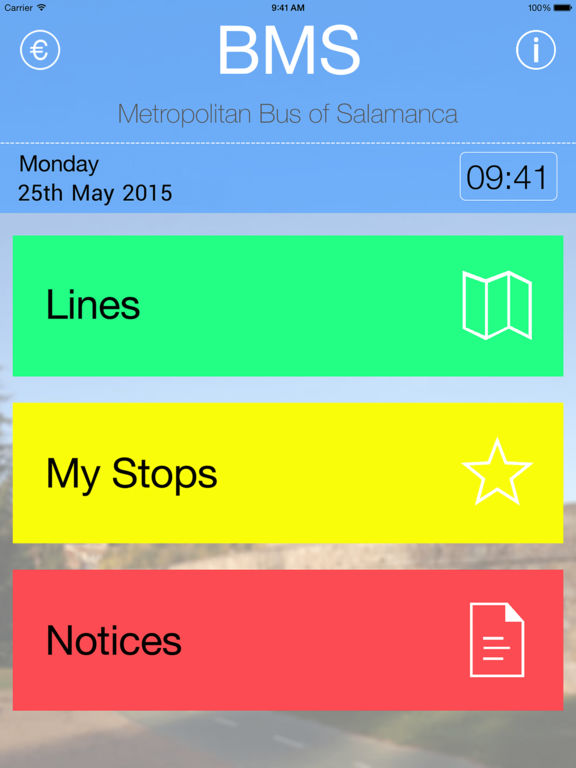 BMS - Bus Metropolitano de Salamanca