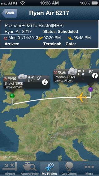 Bristol Airport + Flight Tracker Premium BRS