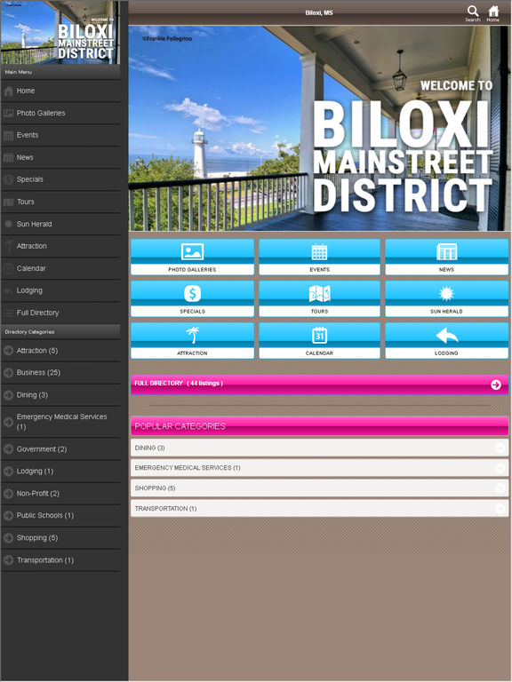 Biloxi Mainstreet District