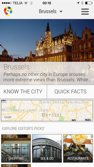 Brussels City Travel Guide - GuidePal