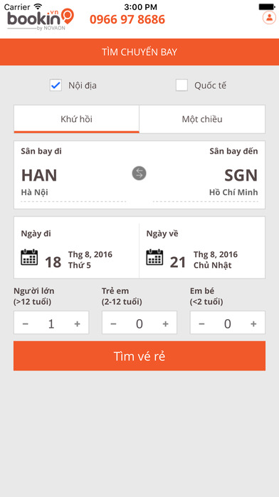 Bookin.vn - Đặt vé máy bay