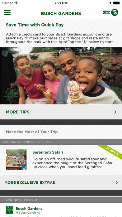 Busch Gardens Discovery Guide