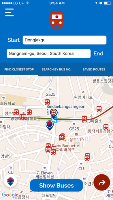 Bus It - Seoul Metro Bus