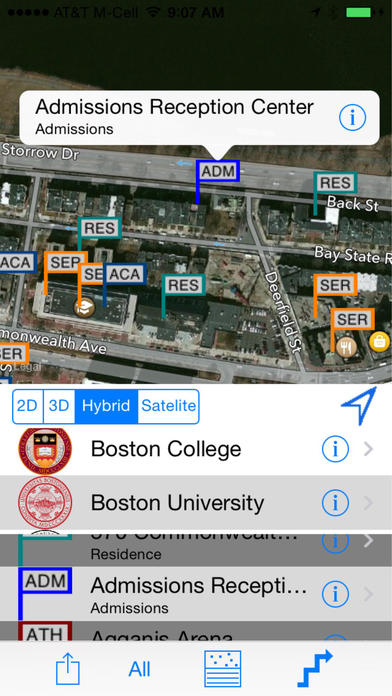 Boston's Top Colleges Navigator