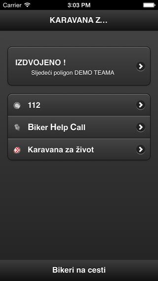 Biker Help Call