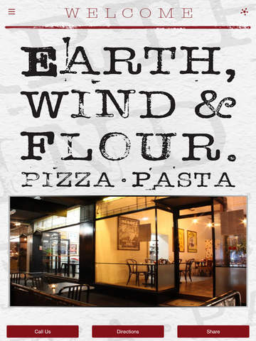 Earth Wind And Flour
