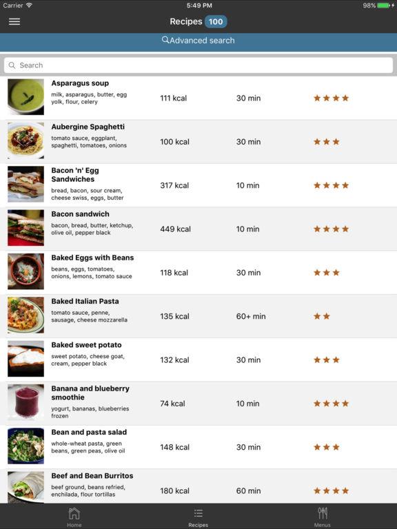 EasyMenu Balanced Meal Planner