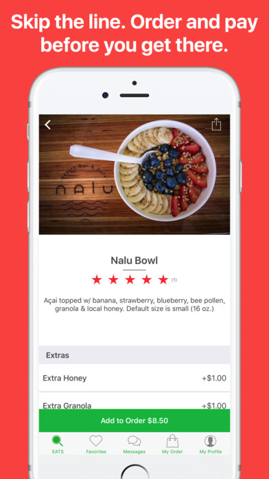 Eats - Order Food Ahead and Skip the Line