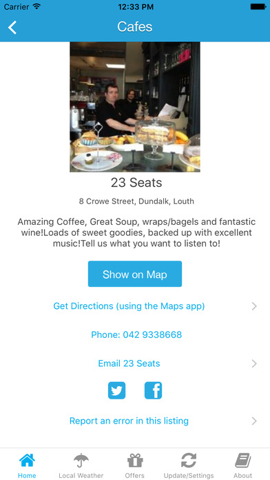 Dundalk App  - Local Business & Travel Guide