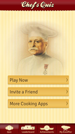 Escoffier Chef's Quiz