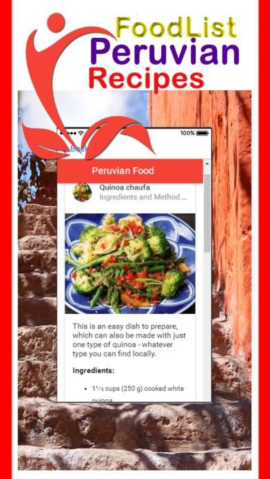 Easy Peruvian Food Recipes