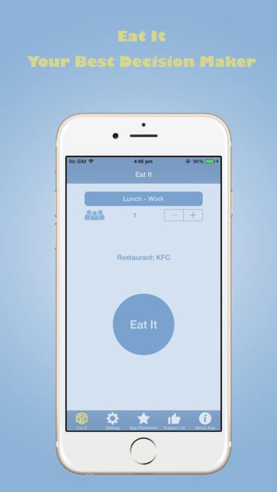 Eat It - Help you Choose a Restaurant