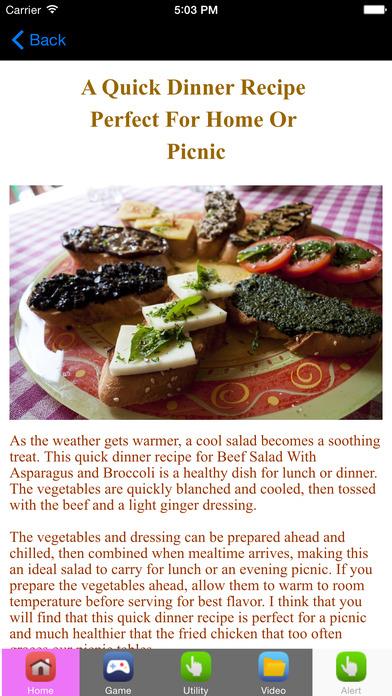 Easy Dinner Recipes And Dinner Ideas
