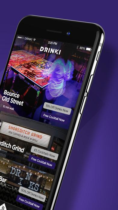 Drinki - Free Drinks in London's Best Bars