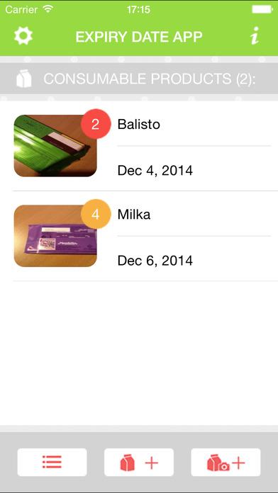 Expiry Date App