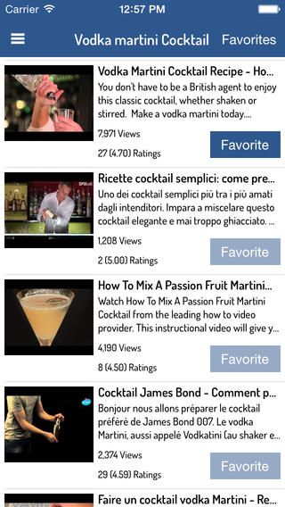 Drink, Cocktail  Liquor Recipes - Complete Video Guide