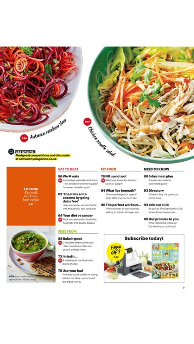 Eat Healthy Magazine - Food with benefits