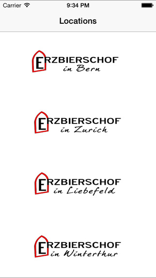 Erzbierschof's Taps