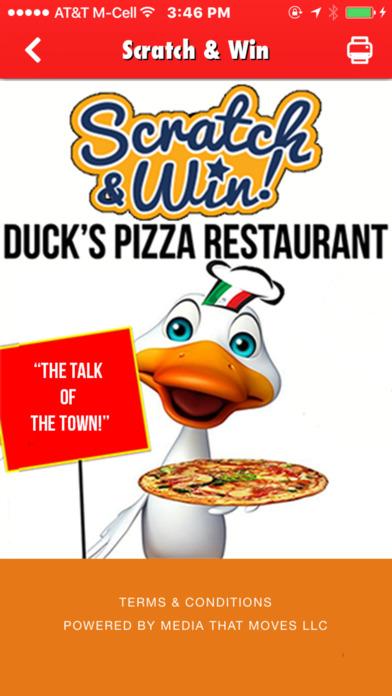Duck's Pizza Restaurant Wappingers Falls