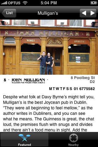 DRINK. Dublin