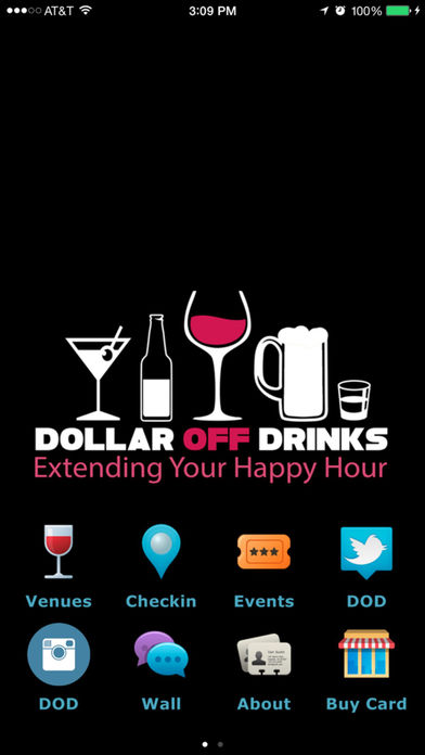 Dollar Off Drinks