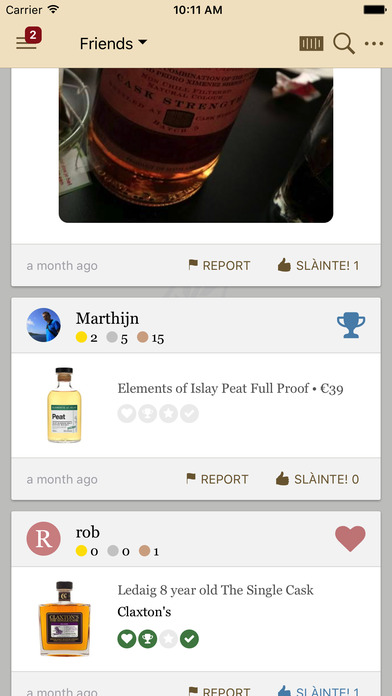 Drammer - Your #1 whisky app