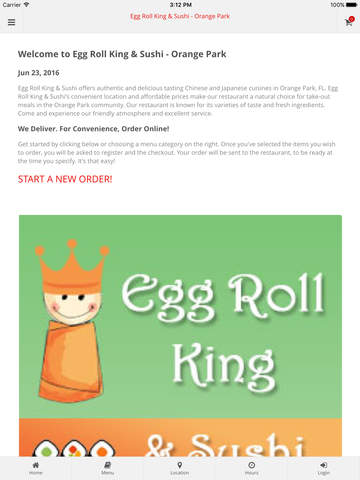 Egg Roll King  Sushi - Orange Park Online Ordering