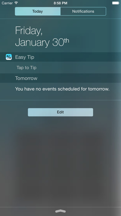 Easy Tip Widget