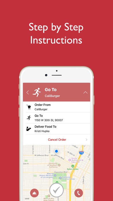 EnvoyNow - Student-Delivery Driver App