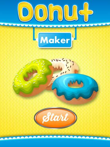 Donut Maker - Kids Baking Game