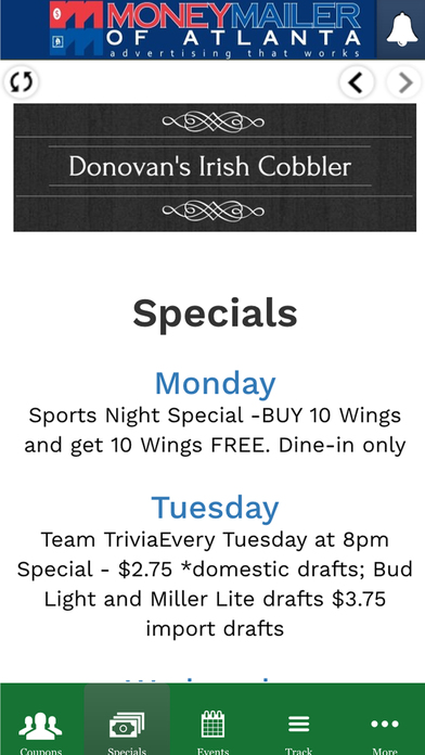 Donovan's Cobbler Club
