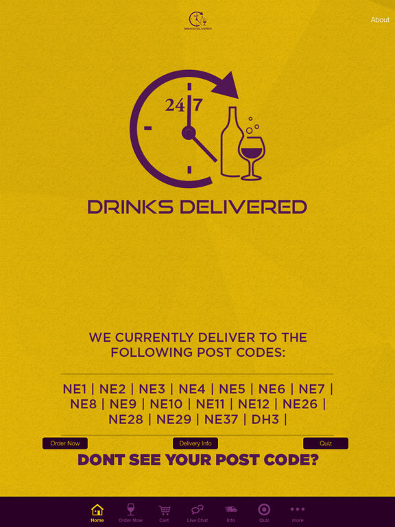 Drinks Delivered 24 7