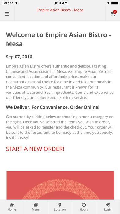 Empire Asian Bistro - Mesa