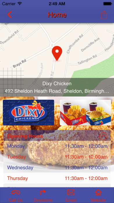 Dixy Chicken Sheldon