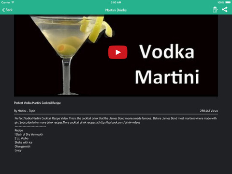 Drink  Cocktail Recipes