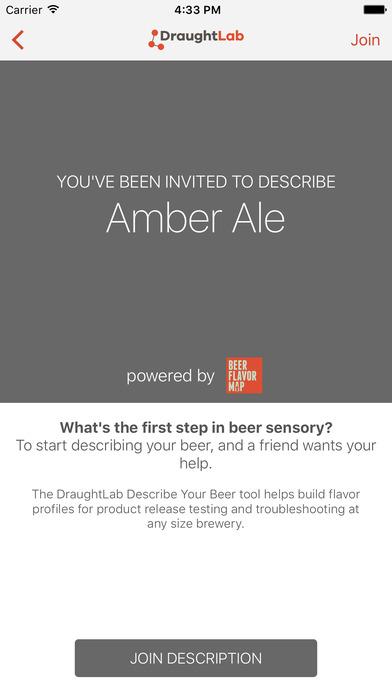 DraughtLab: Describe Your Beer
