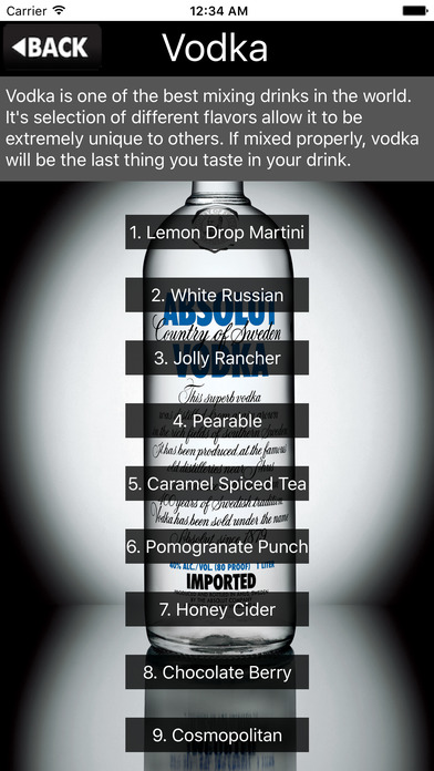 Drinking Guide