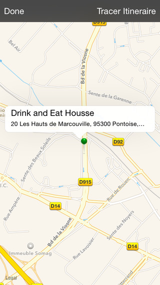 Drink and Eat Housse