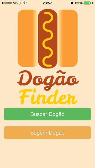 Dogão Finder - Achador de cachorro-quente!
