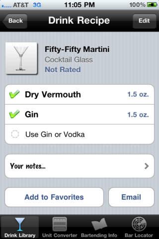 Drink  Cocktail Pro Lite