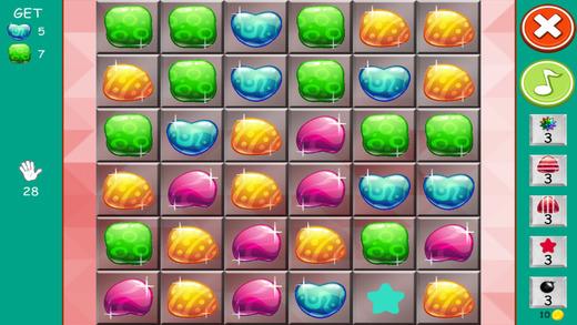 糖果连接珠宝 -  Misterious石头和天堂捕手