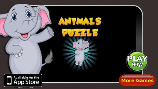 动物拼图词汇
