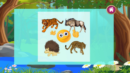 动物拼图儿童