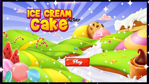 派对冰淇淋蛋糕厂 - 小厨师烹饪